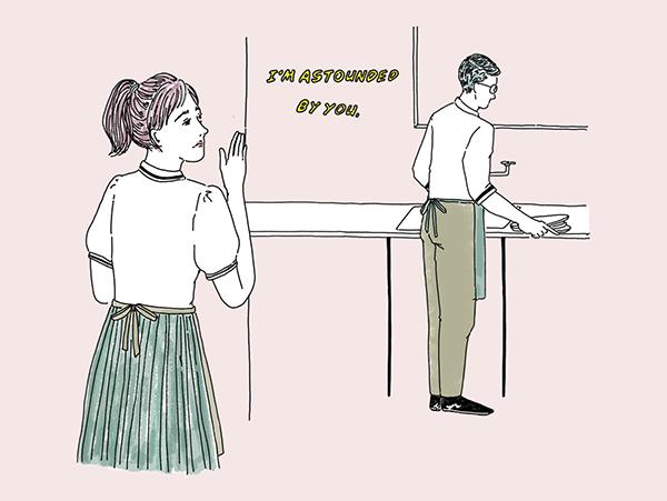 バイト先の先輩とデートがしたい!職場で活躍することが恋の扉を開く鍵なんです♡【恋する女の子のためのお悩み相談室】