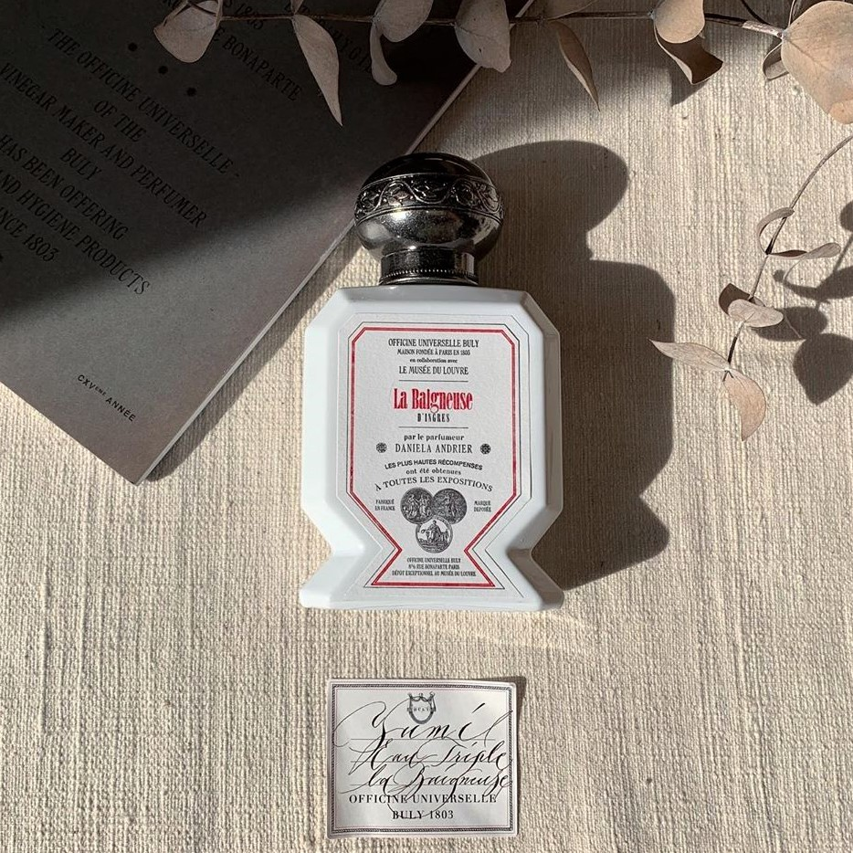 なりたいのは上品に香るフレンチガール。ビュリー×ルーヴル美術館の「香水」で理想のあの子に一歩近づいて♡