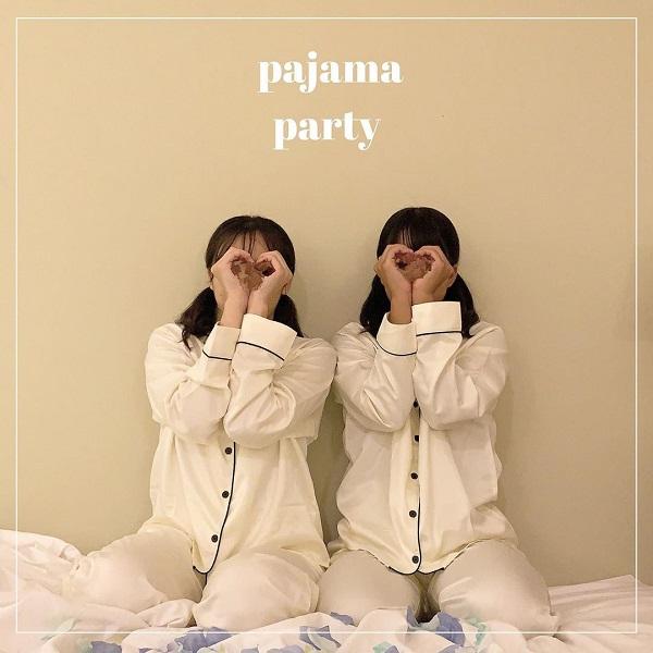 GUの「サテンパジャマ」は高見え度100%!友達とのシミラールックコーデにもぴったりなんです♡