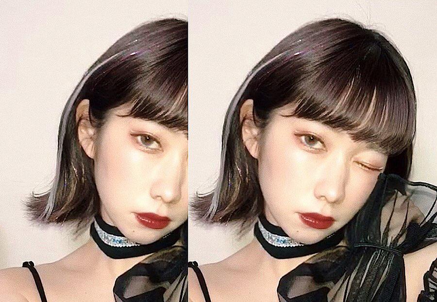 NEXTブームは韓国発のキラキラエクステ?じわじわキテる「ヘアティンセル」のスタイルを集めました。