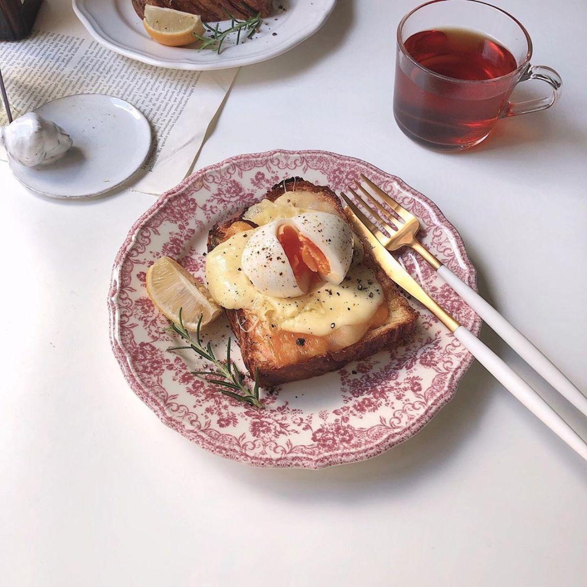 韓国っぽい「トーストアレンジ」でおうちカフェをグッとかわいく♡IGで見つけたおしゃれなアレンジをご紹介