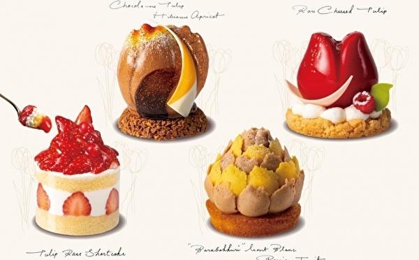かわいすぎる新作ケーキも勢ぞろい♡TOKYOチューリップローズ西武池袋店がリニューアルOPENします♩
