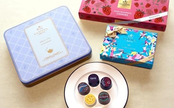 GODIVAが「subsc」にオープン!新作チョコ×焼菓子セットが毎月定額で楽しめるサービスがスタートしました♩