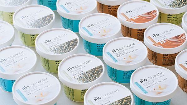 クラフトアイスクリームをもっと身近に♩自由が丘「ヒオ アイスクリーム」の商品がナチュラルローソンに登場