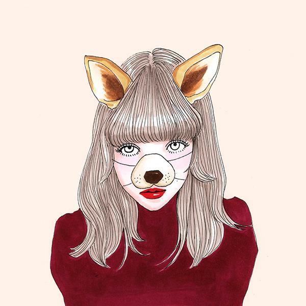 憧れの女優さんみたいな愛され顔になりたい♡「犬顔」っぽく仕上げるメイクのコツって?