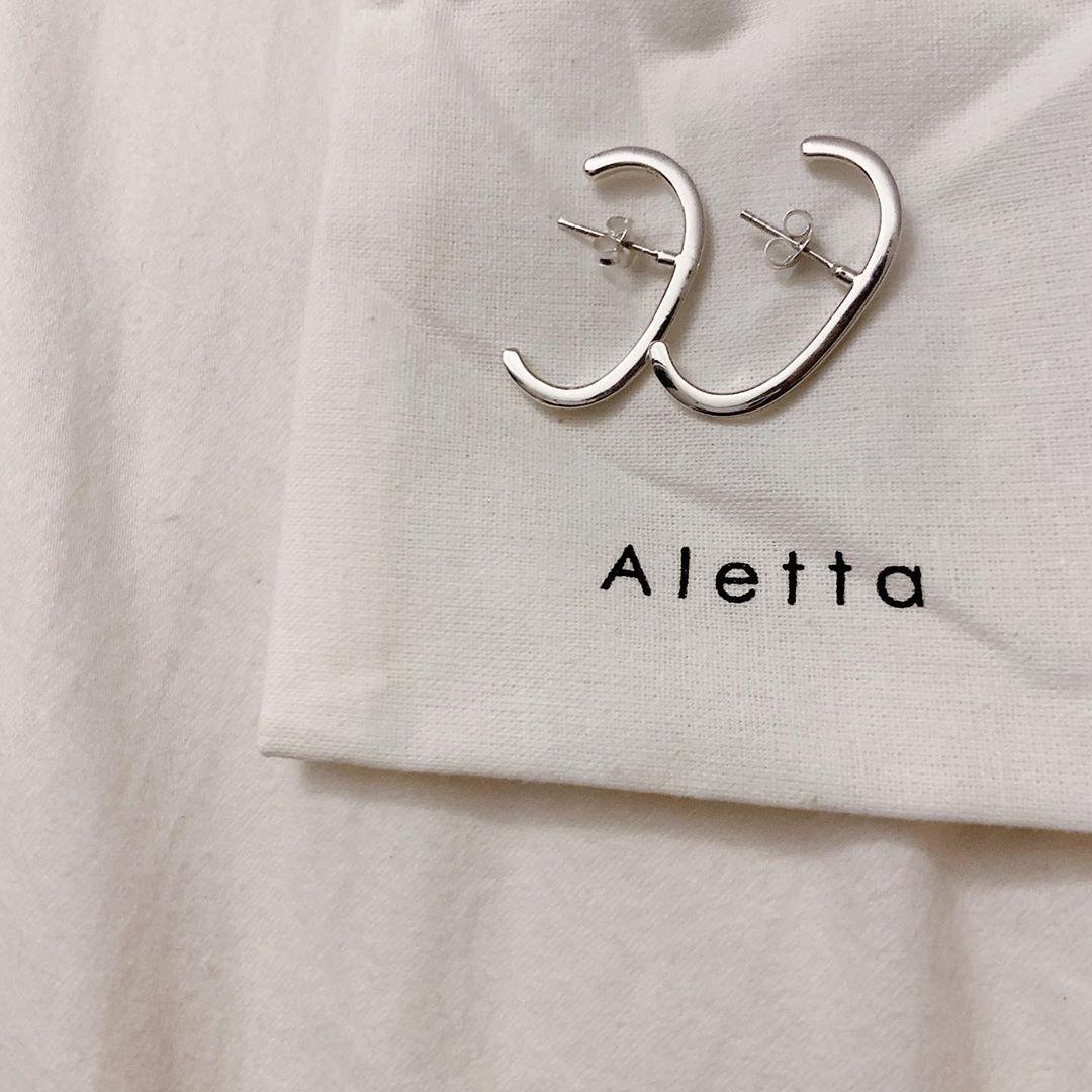 やっと自分に丁度いいアクセが見つかった。高すぎず安すぎない「Aletta」をリピ買いする人が増えています♡