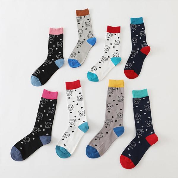 「靴下屋」と「オサムグッズ」のコラボ靴下が登場!レディースとメンズが展開されるので、カップルで履いても◎