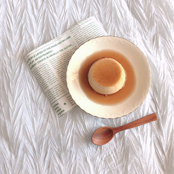 5月25日はプリンの日。Café&Meal MUJIの人気メニュー「本和香糖の焼きプリン」を実際に作ってみました♩