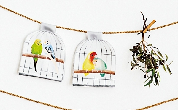 お部屋に小鳥がきたみたい♩おうち時間を癒してくれる「鳥かごのフェイスタイル」がほっこりかわいいんです♡