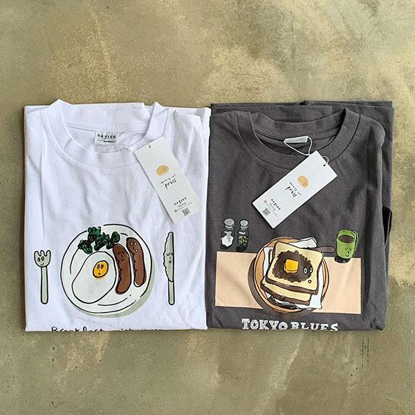 個性的なイラストがどれもツボ♡「スピンズ」から韓国の若手クリエイター6名がデザインしたTシャツが登場