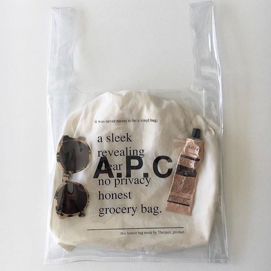 今年の「PVCバッグ」はどれにした?コーデに1つ透け素材が加わるだけで一気におしゃれに見えるから要チェック