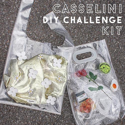 オリジナルのクリアバッグやヘアアクセが作れちゃう!Casseliniの「DIY CHALLENGE KIT」が気になる♩