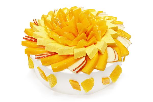 """夏の太陽みたいにキラキラ眩しいマンゴーケーキ♡カフェコムサで期間限定フェア""""世界のマンゴーを訪ねて""""が開催"""