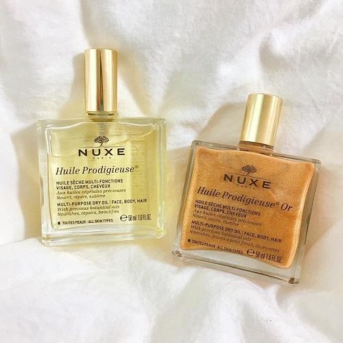 デコルテがキラキラな人ってかわいくない?♡肌見せの夏は「NUXE ゴールド オイル」で煌めく肌を手に入れよ♪
