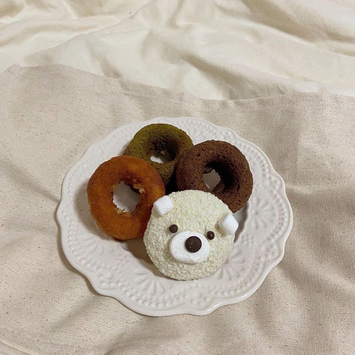 かわいすぎる「くまさんドーナツ」をお取り寄せ♡仙台のカフェHEYに行った気分になれると人気なんです