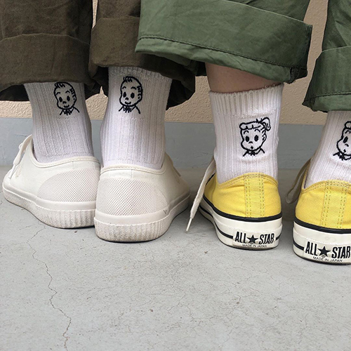 かわいすぎて即完売!「靴下屋×オサムグッズ」のコラボソックスがラブコールに答えて再販開始♩