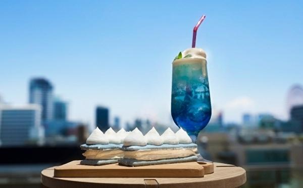 クリームソーダみたいな「空のエクレア」はマスト♡神戸の洋菓子店ビスポッケの1周年キャンペーンをチェック!