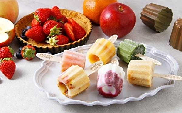 自慢のカヌレがアイスになっちゃった!? かわいいアイスキャンディーが神戸発「TOOTHTOOTH」にお目見え♡