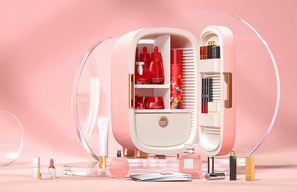 世界中で大人気の「コスメ専用冷蔵庫」って知ってる?日本でもラブコール殺到でついに再販が決定です♡