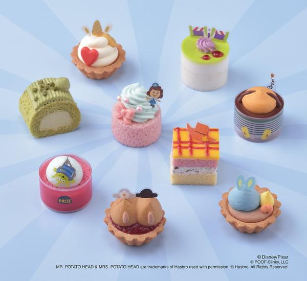 『トイ・ストーリー4』の人気キャラが、プチケーキに!おうち映画でたのしいティータイムを楽しんで♡