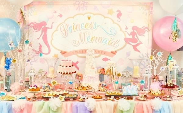 「人魚姫」がテーマの新スタイルブッフェがロマンティック♡この夏、仙台の結婚式場で5日間だけ開催されます♩