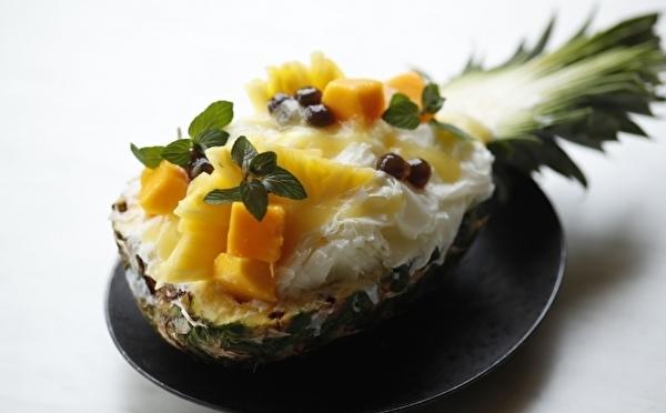 どっちも食べたいパイン×メロン♡贅沢なオトナのかき氷「リッチシェイブアイス」がホテル雅叙園東京に登場!