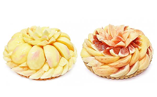 旬の桃が主役の盛りすぎケーキがたまらない♡カフェコムサの夏フェア「桃源郷物語」第1弾がスタートします!
