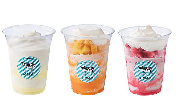 生クリーム専門店MILK、初の「かき氷」が登場!マルイ渋谷店が夏だけ「かき氷屋さん」に大変身しちゃいます♡