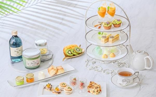 SABON×名古屋のストリングスホテルが初コラボ!限定パフェ&アフタヌーンティーはこの夏のご褒美に♡