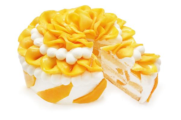 『沖縄県産完熟マンゴー』が主役♡「カフェコムサ」から5日間限定のスペシャルなショートケーキが登場します
