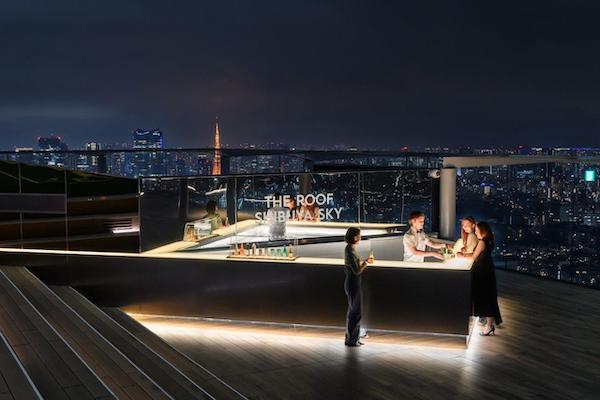 夜景を見ながらロマンチックなひとときを…♡「渋谷スカイ」にルーフトップバーが期間限定でオープン♩