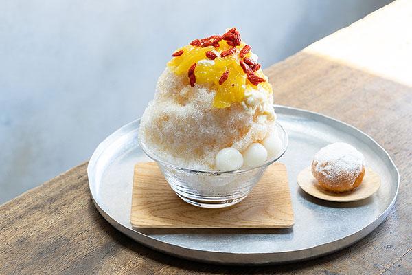 台湾スイーツと日本の甘味らしさが融合。コエ ドーナツ京都に「甘党茶屋 梅園」監修のかき氷が登場します♩