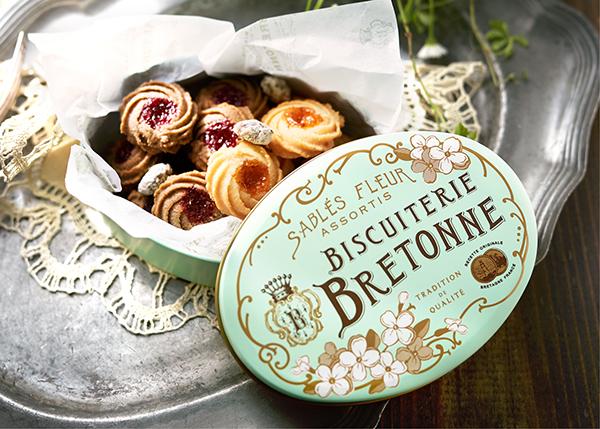 缶のデザインもたまらなくかわいい♡【数量限定】「ビスキュイテリエ ブルトンヌ」の新作クッキー缶が気になる