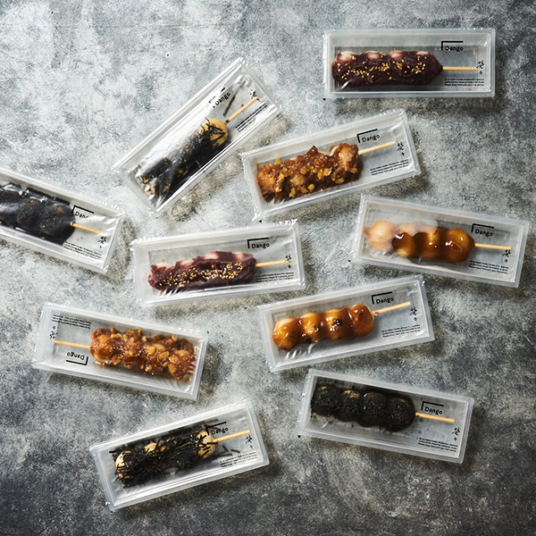 スタイリッシュなお団子を手土産にいかが?和菓子のテイクアウト専門店がこの秋、日比谷にオープンします♡