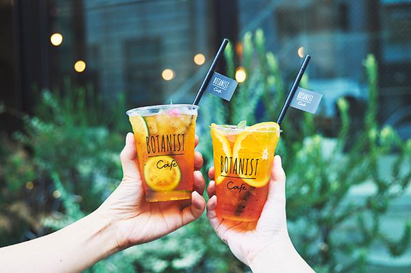原宿「BOTANIST cafe」にティーとフルーツの組み合わせが選べるクラフトティーが登場。お持ち帰りもOK♩