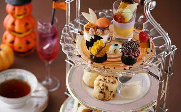 優雅なラウンジで贅沢な秋の時間はいかが♩名古屋東急ホテルのアフタヌーンティーが9月からハロウィン仕様に♡