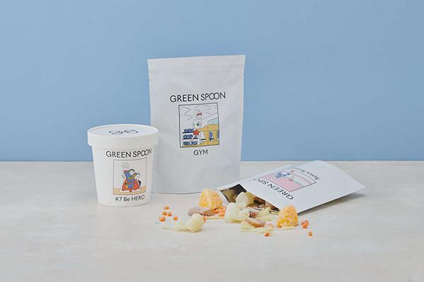 定額制パーソナルスムージー「GREEN SPOON」にパウチタイプが登場♡紙の容器よりプランの価格がお得に