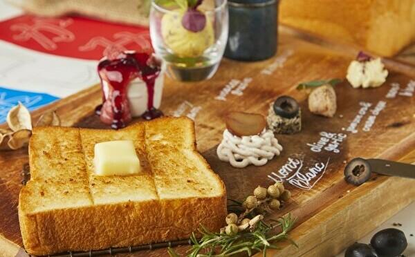 高級食パン「明日が楽しみすぎて」初のポップアップカフェがなんばパークスにOPEN!限定ランチは見逃せない♡