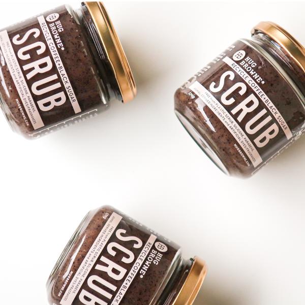 コーヒー抽出後の出がらしを使ったコーヒーシュガーボディスクラブが誕生!コーヒーと黒糖がしっとりスベ肌に
