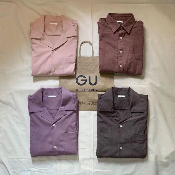 GUの「オープンカラーシャツ」はGETした?メンズライクにもガーリーにも着こなせる万能アイテムなんです◎