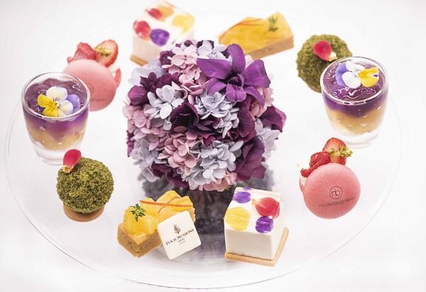 ニコライ・バーグマンのアフタヌーンティーがフォーシーズンズホテル京都で開催!スイーツ×お花がかわいすぎます♡