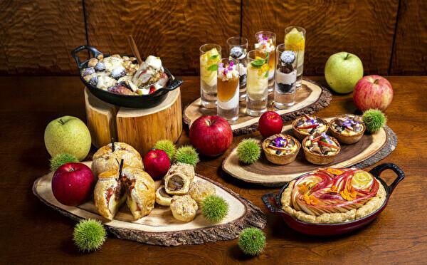 リンゴ×栗のペアリングビュッフェが初開催♡インターコンチネンタル大阪、秋のお楽しみが10月スタート♩