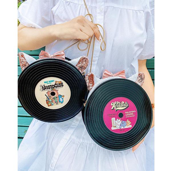 次にディズニー行くときはこのバッグで決まりでしょ♪おしゃれキャットのレコードバッグがかわいすぎるんです♡