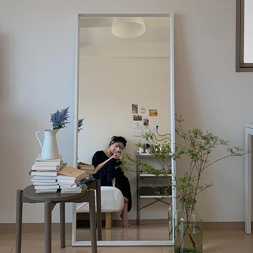 コーディネートチェック&お部屋の広見せアイテムとして♡シンプルおしゃれな「全身鏡」集めました