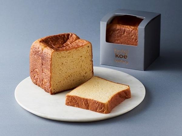 "「hotel koe bakery」が10月1日にオープン♡生食パンの進化系""フィナンシェ""のような食パンが登場します♩"