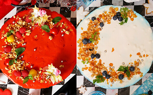 華やかレッド×上品ホワイト、どちらがお好み?WテーマのXmasビュッフェが池袋のアリスレストランで開催!