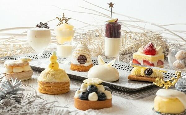 真っ白い雪のようなスイーツにうっとり♡横浜ベイシェラトンのオーダーブッフェが初の「ホワイト」仕立てに♩