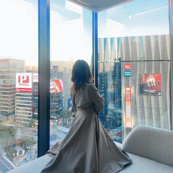 週末は銀座でホテルステイしない?部屋からの眺めが最高の「ザ・ゲートホテル 東京」で贅沢気分を味わって♩