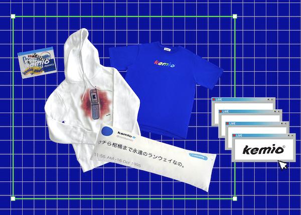 """""""平成み""""感じるショップサイトがエモすぎ…。kemioプロデュースのグッズストアが10月16日にオープン♡"""