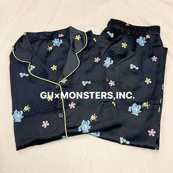 GUの新作パジャマでディズニー気分♩「モンスターズ・インク」のマイク&サリーがパジャマになりました♡